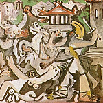 1962 LenlКvement des sabines 3, Pablo Picasso (1881-1973) Period of creation: 1962-1973