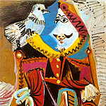 1969 Mousquetaire Е la colombe, Pablo Picasso (1881-1973) Period of creation: 1962-1973