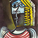 1971 TИte de femme 3, Pablo Picasso (1881-1973) Period of creation: 1962-1973