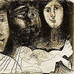 1972 La chute dIcare, Pablo Picasso (1881-1973) Period of creation: 1962-1973