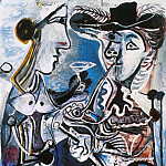 1967 Le couple, Pablo Picasso (1881-1973) Period of creation: 1962-1973