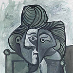 Pablo Picasso (1881-1973) Period of creation: 1962-1973 - 1964 Buste de Jacqueline