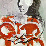1965 Portrait de Jacqueline, Pablo Picasso (1881-1973) Period of creation: 1962-1973