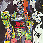 Pablo Picasso (1881-1973) Period of creation: 1962-1973 - 1970 Le matador et femme nue 1