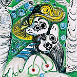 1969 Le baiser 4, Pablo Picasso (1881-1973) Period of creation: 1962-1973