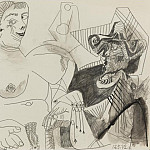 1972 Le galant mousquetaire, Pablo Picasso (1881-1973) Period of creation: 1962-1973