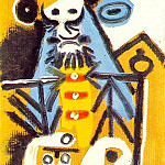 1969 Buste dhomme 2, Pablo Picasso (1881-1973) Period of creation: 1962-1973