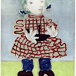 1965 Portrait de jeune fille, Pablo Picasso (1881-1973) Period of creation: 1962-1973