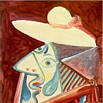 Pablo Picasso (1881-1973) Period of creation: 1962-1973 - 1971 Buste de picador