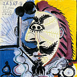 1969 Mousquetaire, Pablo Picasso (1881-1973) Period of creation: 1962-1973