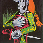 1970 Buste de matador 1, Pablo Picasso (1881-1973) Period of creation: 1962-1973