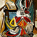 1969 Lhomme au casque dor , Pablo Picasso (1881-1973) Period of creation: 1962-1973