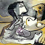 1967 Homme et femme nue 3, Pablo Picasso (1881-1973) Period of creation: 1962-1973