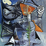 1970 Le matador et femme Е loiseau, Pablo Picasso (1881-1973) Period of creation: 1962-1973