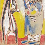 1970 Le peintre, Pablo Picasso (1881-1973) Period of creation: 1962-1973