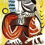 1969 Buste dhomme 3, Pablo Picasso (1881-1973) Period of creation: 1962-1973