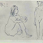 1965 Deux femmes 2, Pablo Picasso (1881-1973) Period of creation: 1962-1973