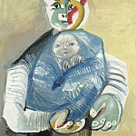 1965 Homme portant un enfant, Pablo Picasso (1881-1973) Period of creation: 1962-1973