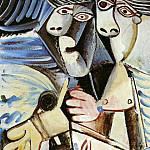 1971 Рtreinte, Pablo Picasso (1881-1973) Period of creation: 1962-1973
