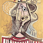 1971 TИte au chapeau 2, Pablo Picasso (1881-1973) Period of creation: 1962-1973