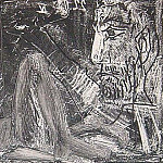 1966 Homme et femme, Pablo Picasso (1881-1973) Period of creation: 1962-1973