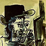 Pablo Picasso (1881-1973) Period of creation: 1962-1973 - 1964 Le peintre I