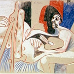 1970 Le peintre et son modКle 7, Pablo Picasso (1881-1973) Period of creation: 1962-1973