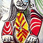 1969 Buste dhomme au mВdaillon, Pablo Picasso (1881-1973) Period of creation: 1962-1973