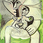 Pablo Picasso (1881-1973) Period of creation: 1962-1973 - 1971 MaternitВ Е la pomme