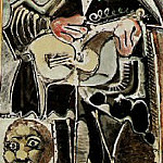 1965 Le guitarriste, Pablo Picasso (1881-1973) Period of creation: 1962-1973