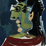 1965 TИte de femme 1, Pablo Picasso (1881-1973) Period of creation: 1962-1973