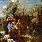 Domenico Fetti -- Flight into Egypt, Kunsthistorisches Museum