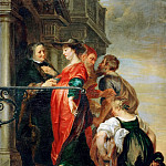Theodor van Thulden -- The Visitation, Kunsthistorisches Museum