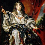 Justus van Egmont -- Louis XIV of France in Coronation Robes, Kunsthistorisches Museum