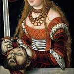 Lucas Cranach the elder -- Judith with the Head of Holofernes, Kunsthistorisches Museum
