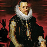 Peter Paul Rubens -- Archduke Albrecht VII, Governor of the Spanish Netherlands, Kunsthistorisches Museum
