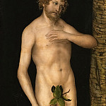Kunsthistorisches Museum - Lucas Cranach the elder -- Adam