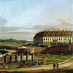 Bernardo Bellotto -- Schlosshof Castle as Seen from the North, Kunsthistorisches Museum