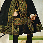 Lucas Cranach the younger -- August, Elector of Saxony, Kunsthistorisches Museum
