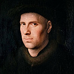 Jan van Eyck -- Portrait of Jan de Leeuw, Kunsthistorisches Museum