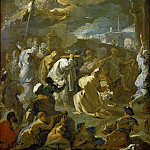 David Brings the Ark to Jerusalem, Luca Giordano