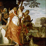 Paolo Veronese -- Anointing of David, Kunsthistorisches Museum
