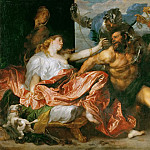 Kunsthistorisches Museum - Anthony van Dyck -- Taking of Samson (Samson Made Prisoner)