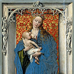 Kunsthistorisches Museum - Rogier van der Weyden -- The Virgin and Child Standing in a Niche