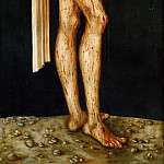 Kunsthistorisches Museum - Lucas Cranach the elder -- Suffering Christ (Man of Sorrows)