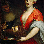 Jacopo Palma, il giovane -- Salome with the Head of Saint John the Baptist, Kunsthistorisches Museum