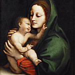 Kunsthistorisches Museum - Bernardino Luini -- Madonna and Child