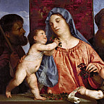 Kunsthistorisches Museum - Titian -- Madonna of the Cherries