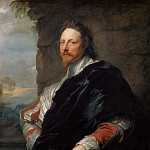 Anthony van Dyck -- Nicholas Lanier , Music Master and Art Director of the English Court, Kunsthistorisches Museum