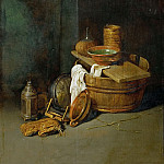 Robert van den Hoecke -- Still Life with Household Utensils, Kunsthistorisches Museum